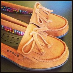 Super comfy and cute Adela suede moccasins