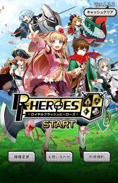 Xin chào các bạn, đã lâu không update trò chơi nào của japan cho các bạn. Hôm nay TGH sẽ giới thiệu một trong những trò chơi ăn khách và rất HOT hiện nay. Đó chính là RF-Heroes (Royal Flush Heroes) tên tiếng nhật là ロイヤルフラッシュヒーローズ.