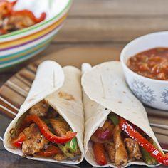 Easy Chicken Fajitas | Recipe | Easy chicken fajita recipe ...