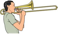 style of trombone playing / brass instruments.