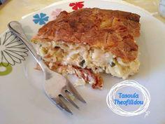 Διατροφή και νέα ζωή ( Δίαιτα των 3 φάσεων ): Αλμυρή κολοκυθοπατσαβουροτυρόπιτα για 2η φάση γευμα υδατανθράκων Cookbook Recipes, Cooking Recipes, Lasagna, Macaroni And Cheese, Ethnic Recipes, Pizza, Food, Lasagne, Cooker Recipes