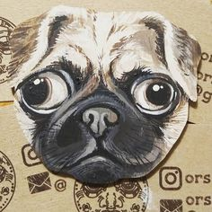 Dogy dog #orsoface #orsinhaface #timelapse #muzzle #animalface #animalfaces #facetoface #facetime #mops #dog #dogs #dogs🐶 #lovedog #littleone #workinprocess #workinprogress #workforfun #mywork #myart #colour #colourfull #собака #морда #ручнаяроспись #handmade #handcrafted #мопс #фанера