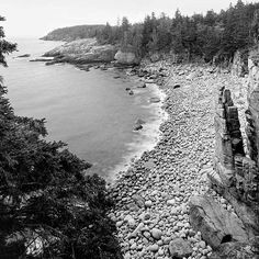 ACADIA PINNACLES 7 I had heard such beautiful stories about Acadia National Park that I was very excited when I had the opportunity to photograph it. The island is a wonderful jewel along the east coast filled with soft gentle green rolling interior spaces and a rugged dramatic coast line on the edges of the island. Photographic opportunities at every turn! I finally found a place to park the car, and then hiked back toward it looking for a trail. I found a small trail that I followed into…