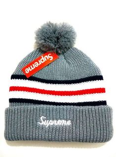 2017 Winter Hot Supreme Beanie knitted hat Supreme Hat ddb89b02c80