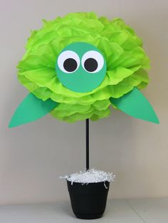 An original decoration for a baby shower, birthday party, or other celebration! When fully opened, this pompom is 20 wide. Because this item