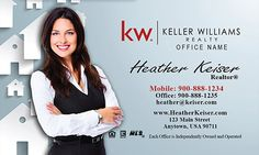 83 Best Keller Williams Business Cards Images Business Card