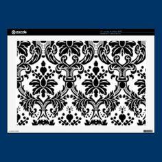 Black & White Damask Laptop Skin $30.65