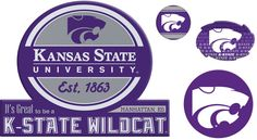 $21 - NCAA Kansas State Wildcats Game Day 4-Piece Magnet Set - Deck out any space with this spirited Kansas State Wildcats magnet set. Official team graphics & colors Fade resistant Attaches to most metal surfaces What's Included 4 magnets Paper, plastic Wipe clean Imported Shop our full assortment of Kansas State Wildcats items here. When you're a fan, you're family! Size: Onesize. Color: Multicolor. Gender: Unisex.