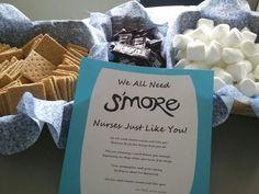 pinterest nurses week ideas   Nurse Appreciation Week- S'mores