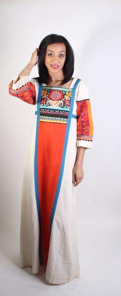 Southwestern / Long Dress / Ethnic / Dress / Dresses / Tribal Dress / Indian / Native / Mexican / Southwest / Multicolor / 0948