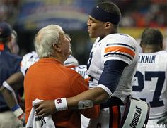 Coach Dye and Cam - legends of the Plains