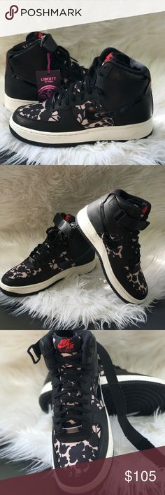 NWT Nike Air Force 1 HI LIB Q WMNS, size 7,5 Brand new, no lid box. Price is Firm! No trades. Nike Shoes Sneakers