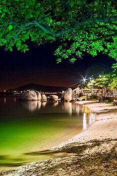 Praia de Itaguacu, Florianopolis , Santa Catarina, Brazil. #Travel #TravelTips #Brazil @travelfoxcom