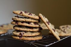 Vegan and Gluten Free Chocolate Chip Cookies - Oh She Glows