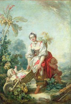 Jean Honore Fragonard//Rococo