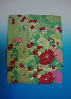 Kimono Dress Japan OBI Band used Fukuro Geisha band Vintage KDJM-L0082