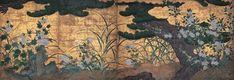 国宝 長谷川等伯『松に秋草図』