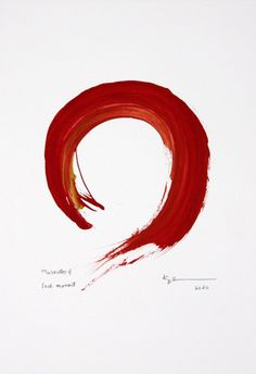 Original enso paintings for sale by Kaz Tanahashi portray the completeness of the perfect and imperfect in the zen circle. Japanese Painting, Ceramic Design, Paintings For Sale, Paper Size, Zen, Im Not Perfect, Circles, Artwork, Artist
