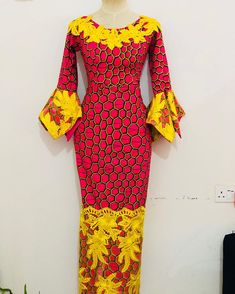 Here are some adorable and stunning African ankara gowns that will give you that unique look you deserve for your occasions and special events, these ankara dresses come in different styles and designs just to give you an awesome fitting and look. African Fashion Ankara, Latest African Fashion Dresses, African Print Fashion, Africa Fashion, African Dresses For Women, African Print Dresses, African Attire, Ankara Dress Styles, Latest Ankara Styles
