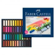 Faber-Castell Creative Studio Soft Pastels - 48 Count for sale online Creative Studio, Soft Colors, Vibrant Colors, Pastel Crayons, Bicycle Painting, Chalk Pastels, Soft Pastels, Mini, Drawing Letters