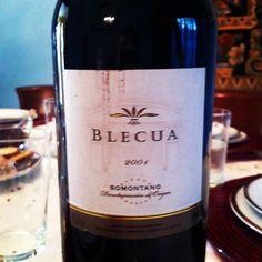 Blecua 2004 Somontano