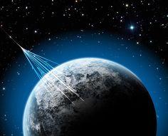 Un nuevo estudio nos cuenta que los rayos cósmicos, cuyos efectos pueden ser muy dañinos en el ADN de los seres humanos, pueden ser una fuente de alimentación para algunas formas de vida extraterrestres... #astronomia #ciencia
