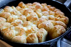 Pizza Monkey Bread  8 oz fresh mozzarella, cubed 1/2 cup grated parmesan cheese 1/4 cup feta cheese 5-8 oz pepperoni slices, quartered 6 tbsp butter 1/2 tsp salt tomato sauce for dipping