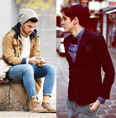 Styling With A Beanie #mens #fashion