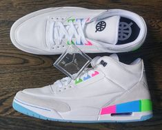 premium selection b27c7 d1c0e Air Jordan III Retro Quai54 2018 Zomeroutfits, Zomerkleding, Jordan Shoes,  Schoenen, Dromen