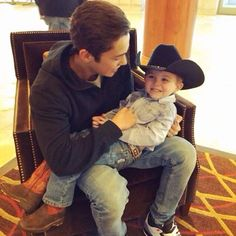 Austin and his nephew Logan :3