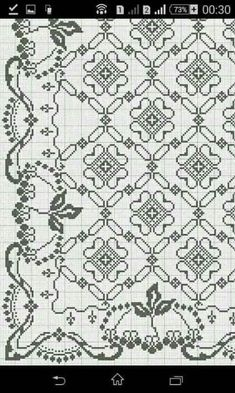 Chicken Scratch, Cross Stitch Patterns, Cross Stitches, Sewing Stitches, Bargello, Embroidery Designs, Diy And Crafts, Crochet, Quilts