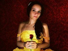 Belle costume from beauty and the beast yellow gown dress with red rose Beauty Guide, Beauty Advice, Beauty Hacks Video, Beauty Secrets, Beauty Care, Beauty Skin, Beauty Box, Beauty Ideas, Belle Costume