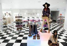 INAUGURAÇÃO - #Forever21 chega ao Brasil - www.guiajeanswear.com.br - #GuiaJeansWear: O Portal do #Jeans