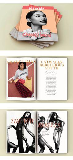 "Magazine Design ""Nimble"" Sc Editorial Project"