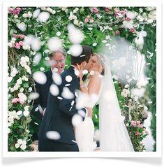 First Kiss | Wedding | Bride | Bridal