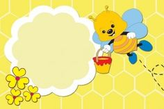 Imágenes de abejitas Clipart, School Border, Bee Photo, Diy And Crafts, Paper Crafts, Spelling Bee, Bee Cards, Borders And Frames, Bee Theme