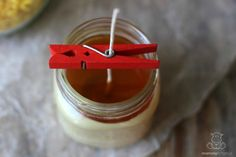 "If you'd like to know how to make beeswax candles that don't crack the jar from overheating, blend beeswax w/another ""cooler"" oil like palm or coconut oil."