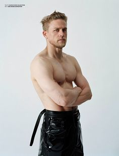 Charlie Hunnam shirtless in leather? YASSSS