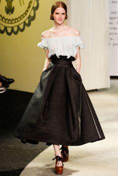 Spring 2013 Couture - Ulyana Sergeenko | Photo: Marcus Tondo / InDigital | GoRunway | model: Magdalena Jasek