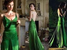 Atonement amazing green dress!
