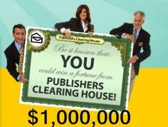 PCH Win 10 Million Dollars Sweepstakes Instant Win Sweepstakes, Online Sweepstakes, 10 Million Dollars, Win For Life, Hurtado, Publisher Clearing House, Winning Numbers, Thing 1, Cash Prize