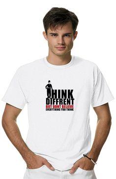 Футболка ЧАРЛИ ЧАПЛИНиз коллекции SAVAGEпропитана настоящим духом свободы и стиля! Мужская футболка с прикольным принтом