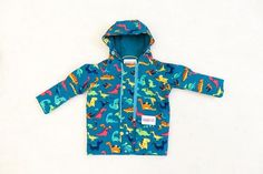 coat for kids-dinosaur – NANA wear Baby Boots, Softshell, Dungarees, Baby Wearing, Children, Kids, Colours, Coat, How To Wear