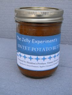 Sweet Potato Butter! Try our blend of Sweet potato, apples, cinnamon ...