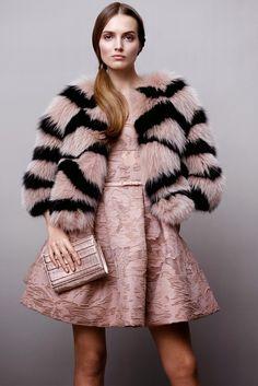 #eliesaab #perfect #dress #pink #prefall #fashion #coat #fur #style #amazing #luxury