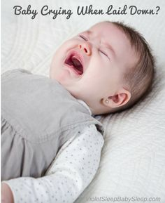 Here's what you can do http://violetsleepbabysleep.com/baby-cries-when-put-down-to-sleep/