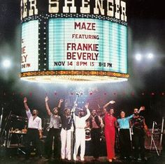 Maze featuring Frankie Beverly   They came to New Orleans every Thanksgiving when I was growing up.