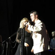 When Stevie performed at the Bank of America Pavilion in Boston in 2012, Hyannis resident and Iraq war veteran Cpl Vincent Mannion-Brodeur was invited to join her onstage.