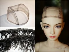 wig made forbjd ,but this scheme can make wigs for any dolls - waldorf doll, art doll,   Blythe Doll  head size of 22 cm / 8-9 Insti...