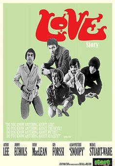 De Doors wilden net zo groot als Love worden. Zo verteld deze docu over de uit L.A. afkomstige band.